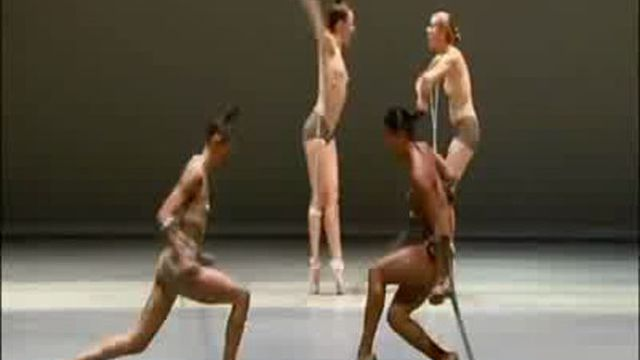 голый театр балет видео