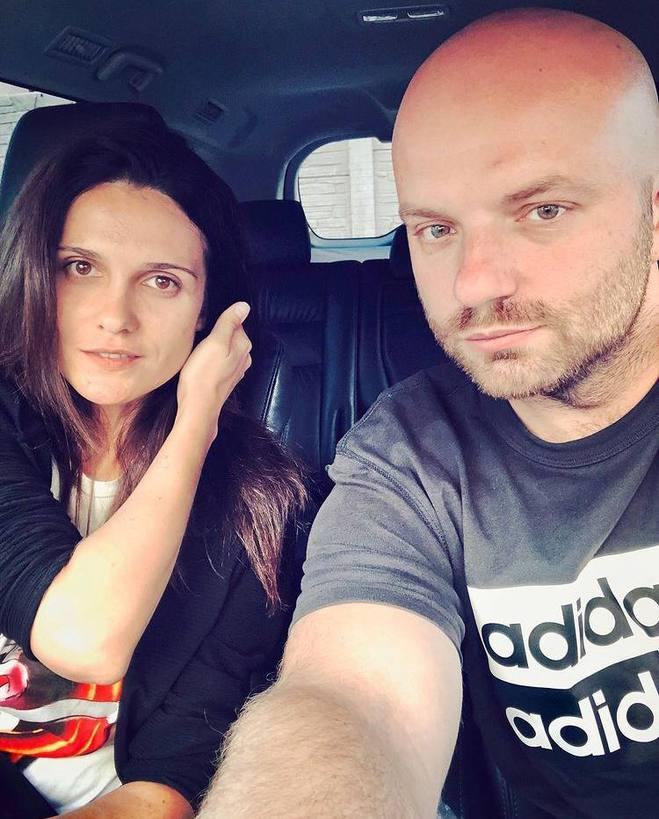 Слава Дьомін і Ксенія Міщенко
