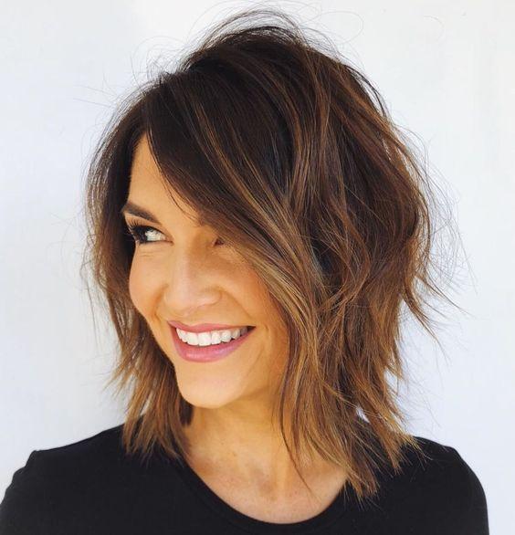 Модна зачіска 2019 шеггі