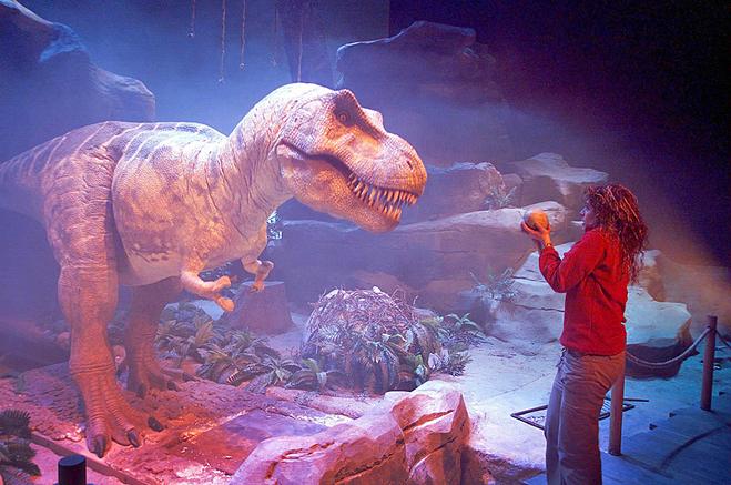 Палеонтологический парк в Испании