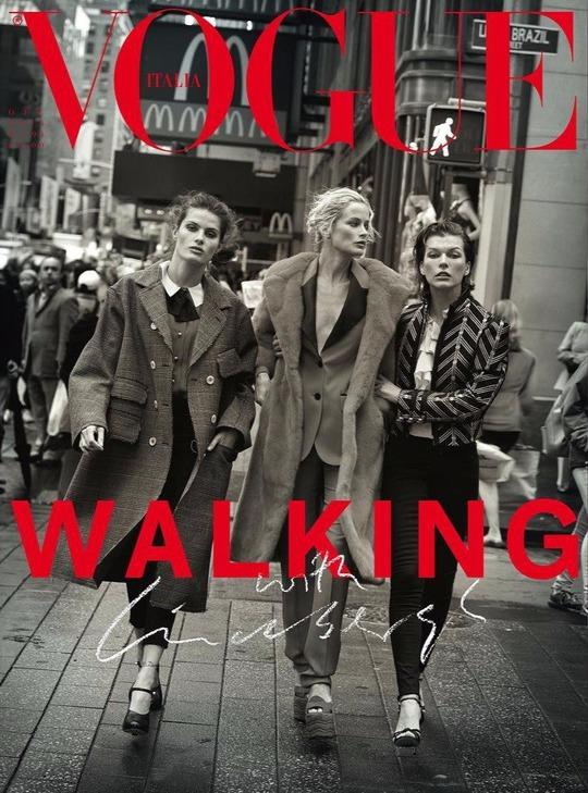 18 моделей на сторінках Vogue Italia