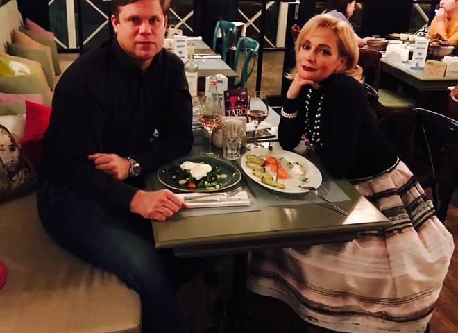 Тетяна Буланова з чоловіком