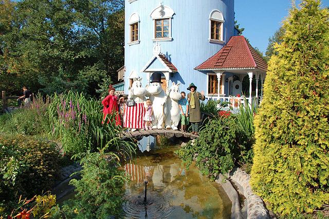 Осенние каникулы: совмещаем приятное с полезным: Мир Муми-Троллей (Финляндия, Наантали)