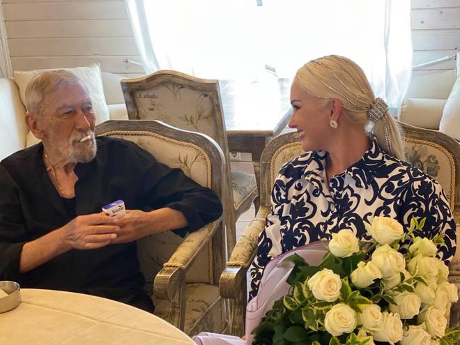 Вахтанг Кикабидзе и Катерина Бужинская