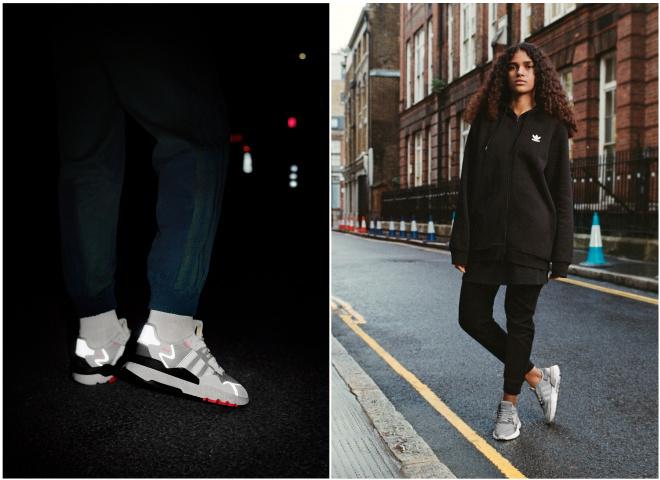 Силует adidas Originals NITE JOGGER повертається, щоб об'єднати міських креаторів