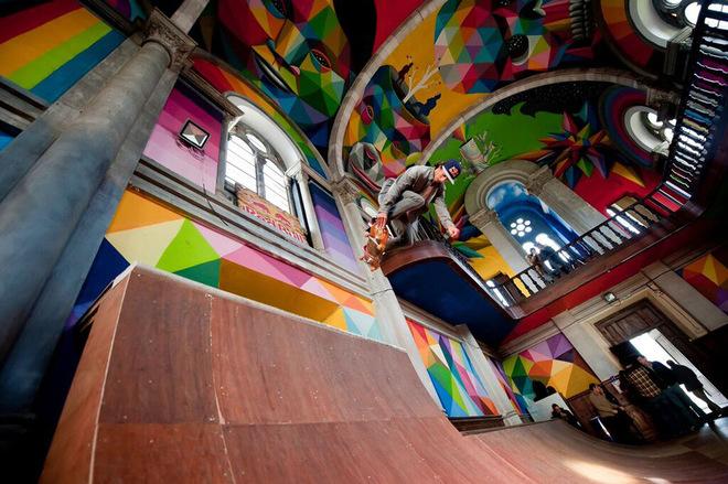 100-річну церкву в Іспанії перетворили на скейт-парк