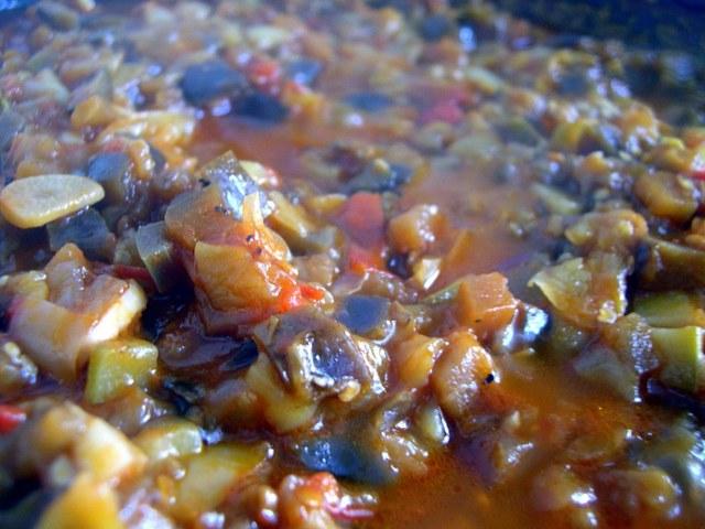 Икра из кабачков и баклажанов пошаговый рецепт с фото