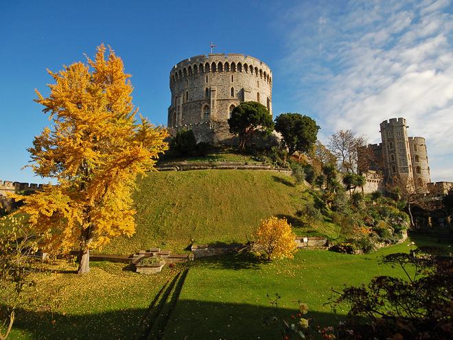Замки осенью. Виндзорский замок