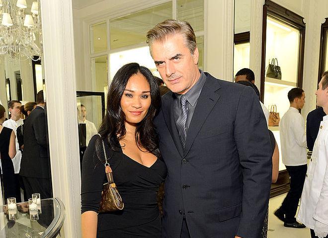 Крис Нот с женой