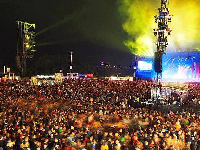 Музыкальные фестивали: Rock Am Ring