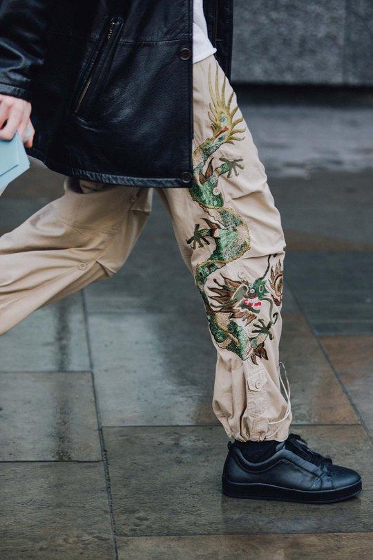 Головні стрітстайл-образи з Тижня чоловічої моди в Лондоні