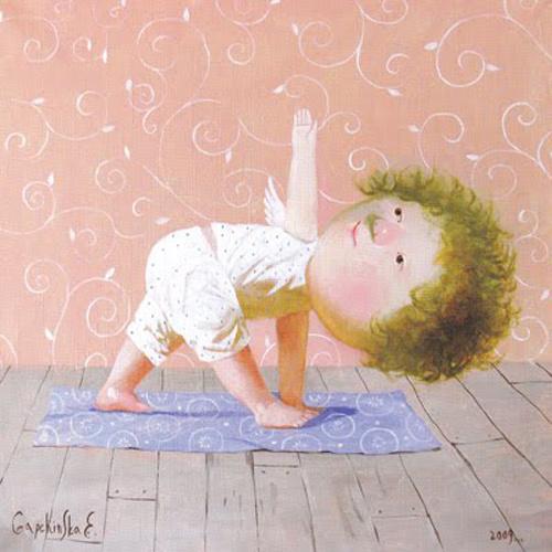 Йога ангелов от Евгении Гапчинской