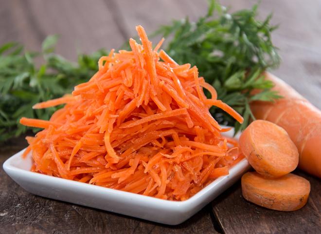 Рецепт морковки с чесноком: готовим салат