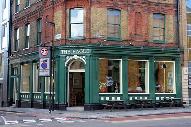 Лондон за два дня: ресторан The Egle