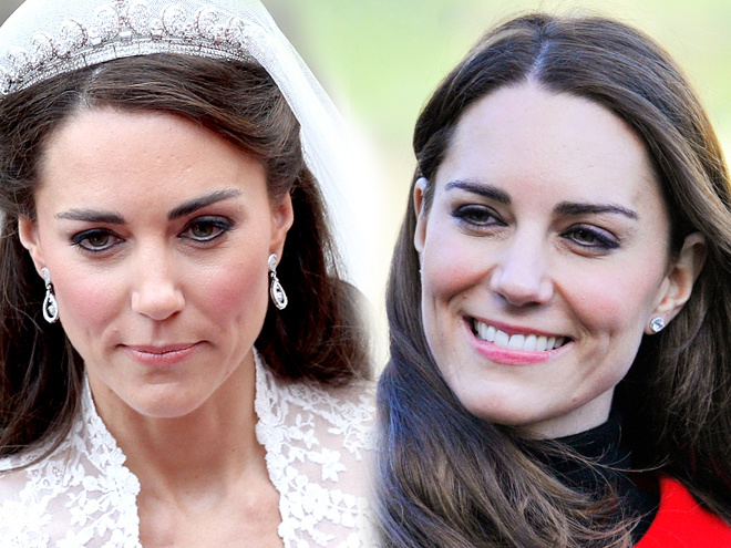 Kate middleton wedding makeup