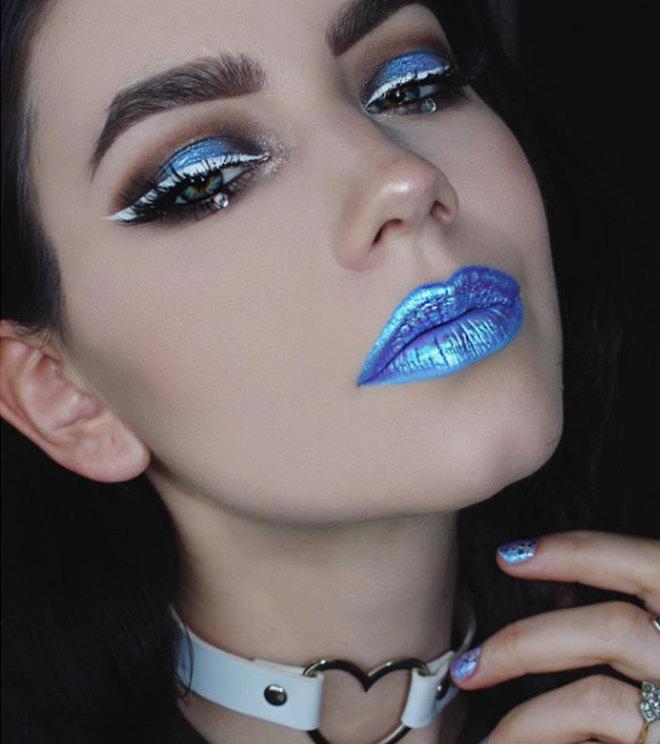 Бьюти-тренд 2017 – губы с бриллиантами