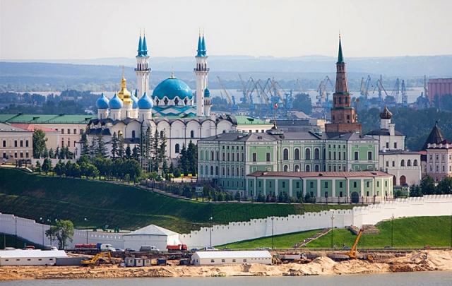 Высотная Казань: Казанский кремль