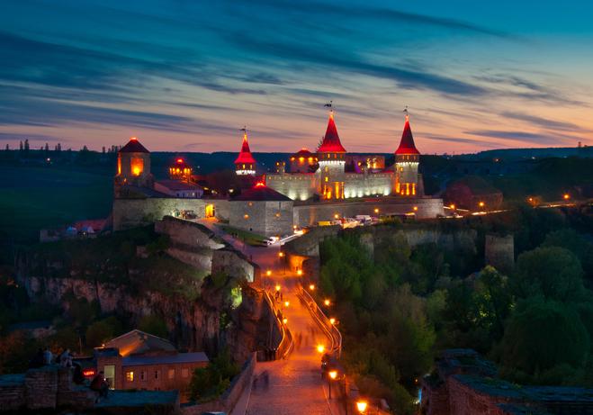 Интересные места Украины: самые красивые замки, дворцы и крепости