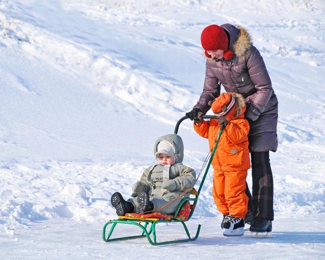 как выбрать санки для ребенка