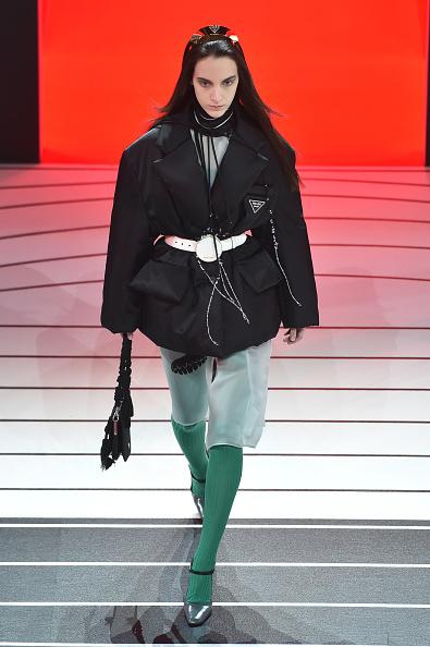 Куртка Prada — модний пуховик на зиму 2021