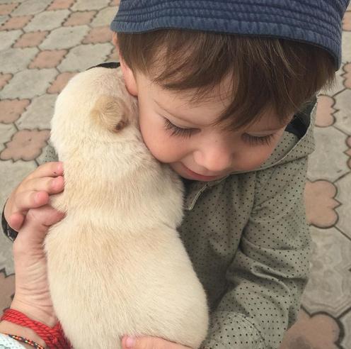 Сын Жанны Фриске и Дмитрия Шепелева