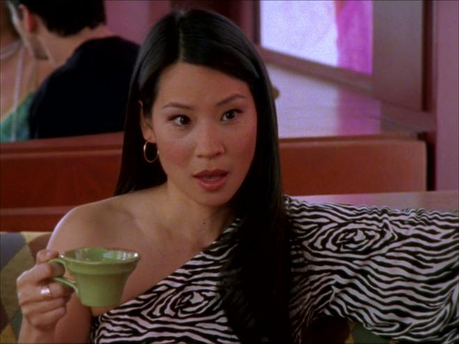 """Люсі Лью в серіалі """"Секс у великому місті"""""""