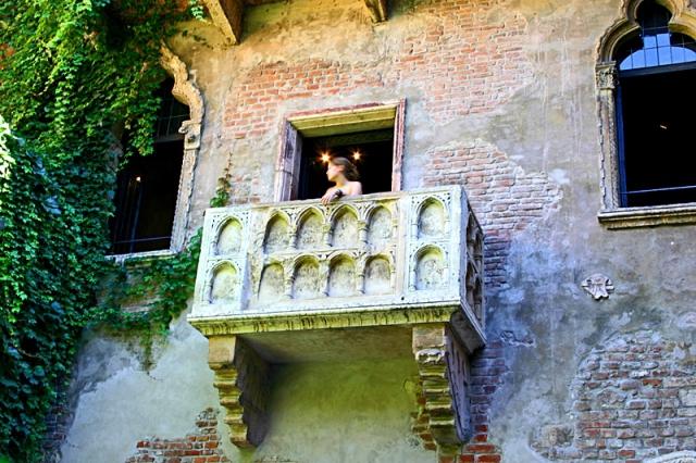 Цікаві місця Верони: балкон Джульєтти