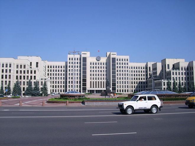 Визначні місця Мінська. Будинок Уряду