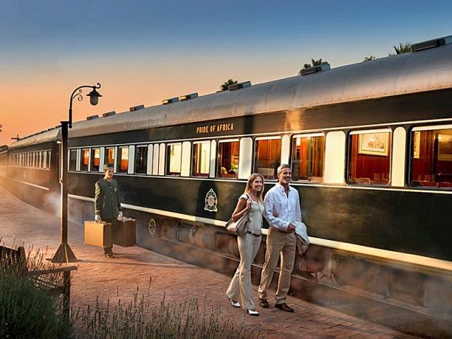 Rovos Rail, Африка