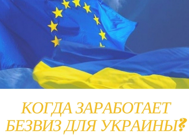 Безвизовый режим для Украины: когда вступит в силу