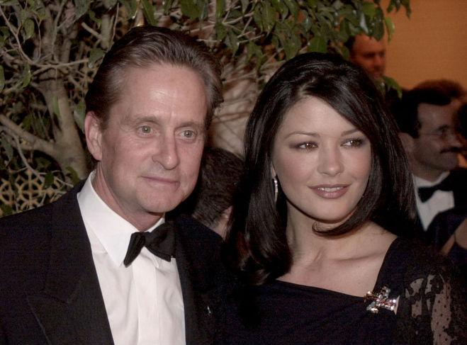Майкл Дуглас і Кетрін Зета-Джонс у 2000 році