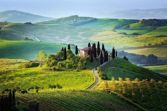 Невероятная красота Тосканы