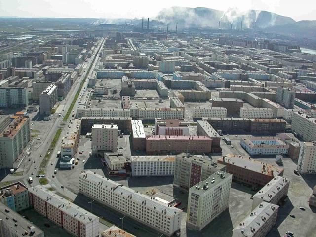 Самые грязные города мира. Норильск, Россия