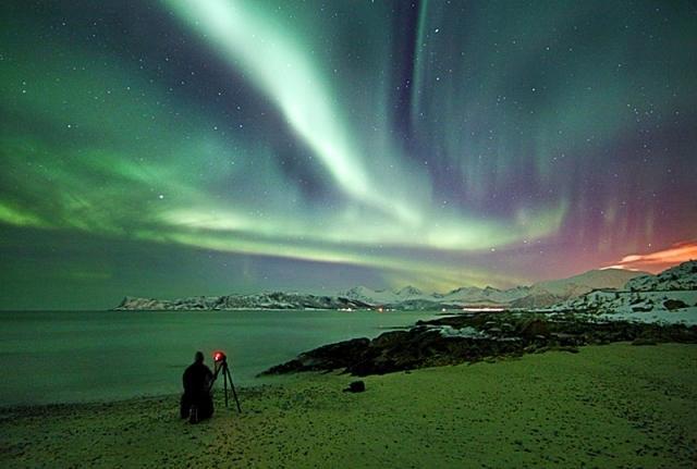 північне сяйво в Норвегії