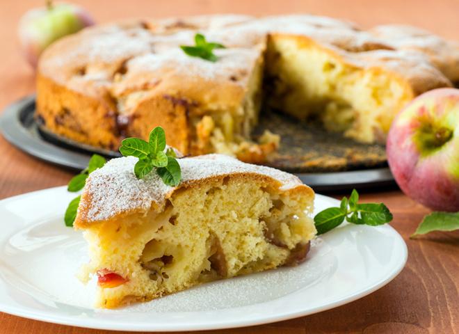 Пирог на кефире, рецепт, как готовить