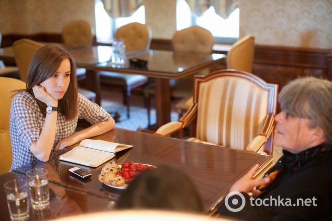 Марі-Еллен Леріссі інтерв'ю