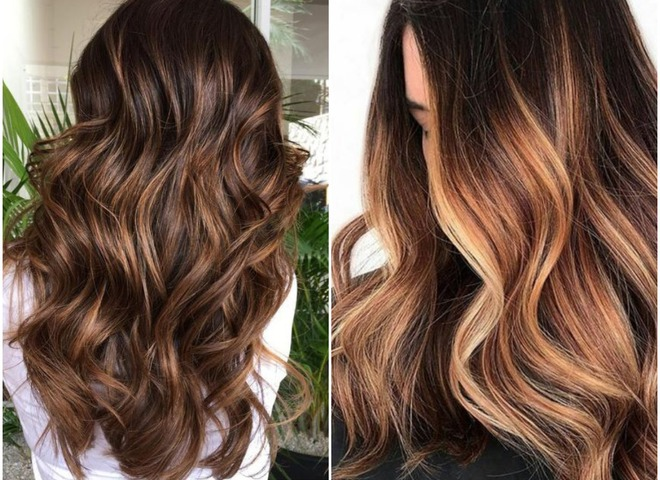 Модное окрашивание волос 2019