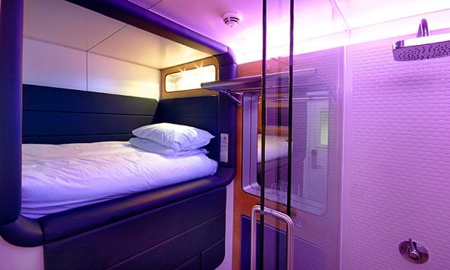 Де відчути себе космонавтом: YOTEL - готель в Нью-Йорку