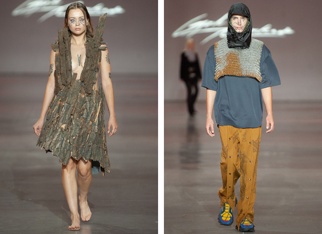 Бренд God Naked: New Names на Ukrainian Fashion Week noseason sept 2021