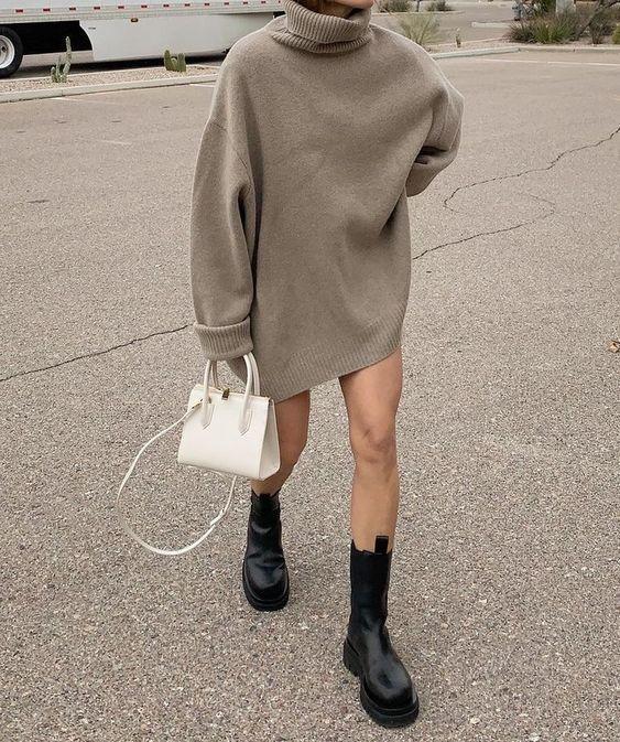 Грубая обувь с платьями и юбками