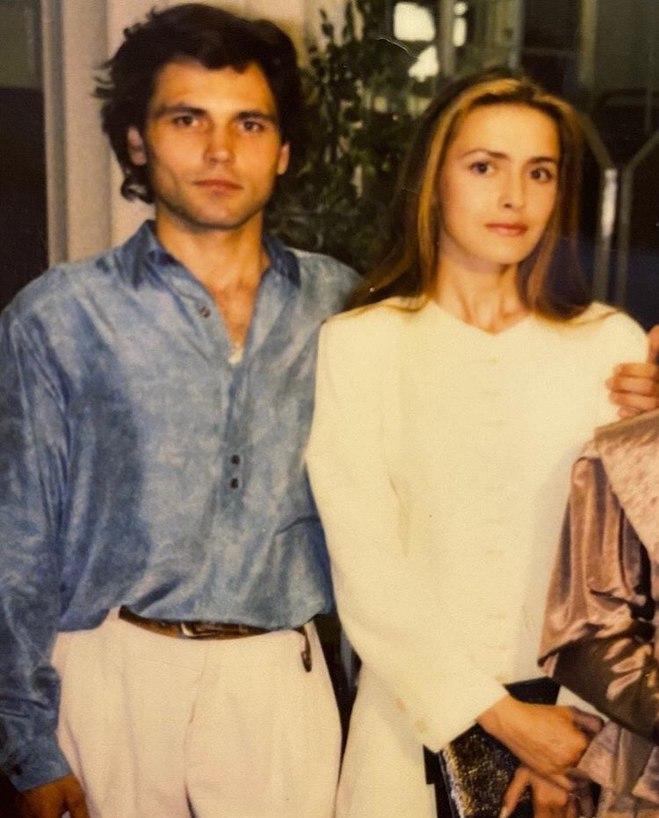 Ольга Сумская и Виталий Борисюк