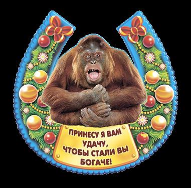 Удачи на Новый год обезьяны 2016