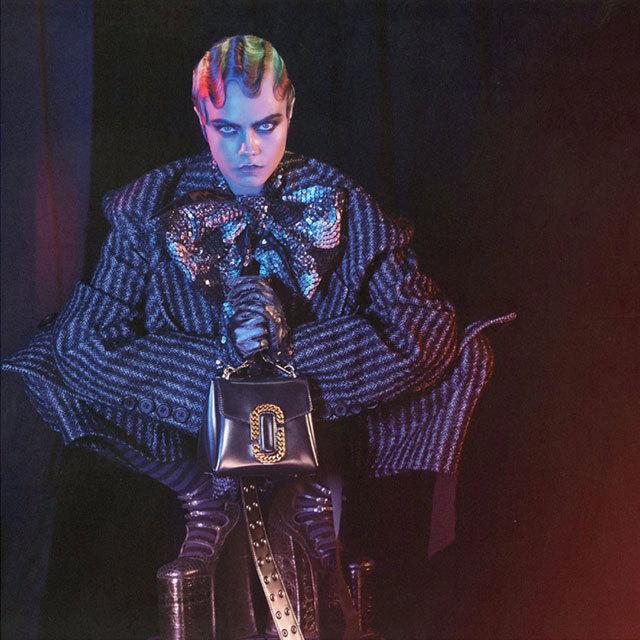Рекламна кампанія Marc Jacobs FW 2016/2017: Кара Делевінь