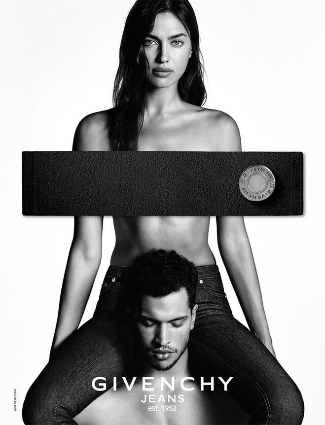 Ірина Шейк і Кріс Мур для Givenchy Jeans