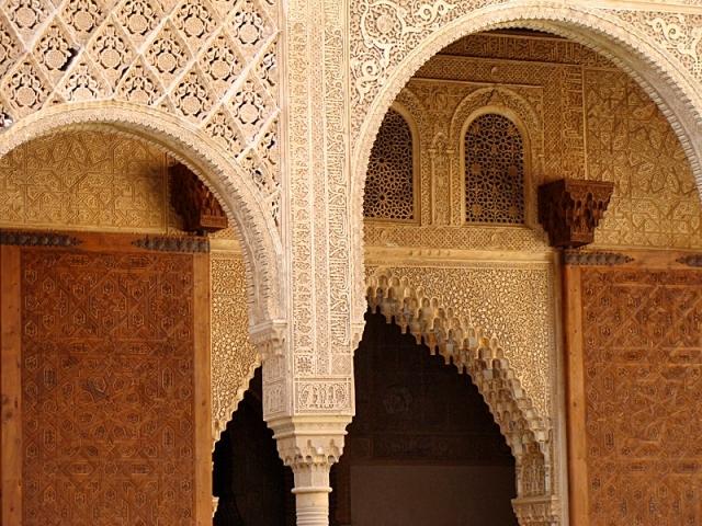Замок в Испании - Альгамбра