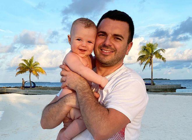 Григорий Решетник с младшим сыном
