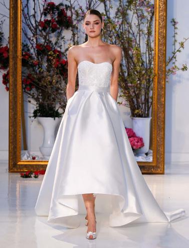 Платье-каскад