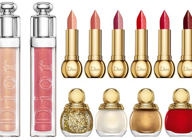 Dior State of Gold Collection Christmas Holiday 2015