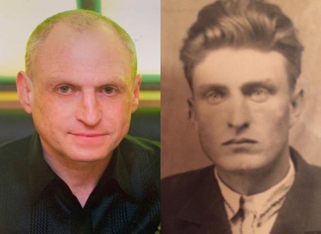 Чоловік і дідусь Олі Полякової