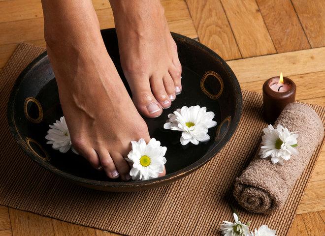 Ванночки для ніг: як зробити